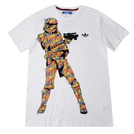 adidas - Adidas Originals Star Wars Stormtrooper T Shirt White