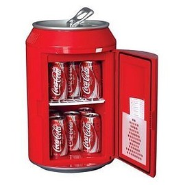 Coca-Cola - コカ・コーラ型ミニ温冷蔵庫 CC10G Coca-Cola Can-Shaped 8-Can-Capacity 輸入品