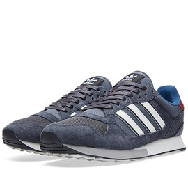 adidas, Barbour - ZX 555 (Solid Grey & White Vapour)