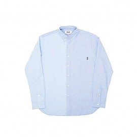 Palace Skateboards - BOOJIE SHIRT BLUE 2 TONE OXFORD