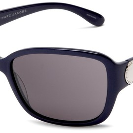 MARC BY MARC JACOBS - MMJ 021/S Sunglasses (Navy / Dark Gray)