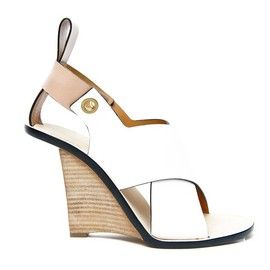Chloé - SS2014 CLYDE HALF-WEDGE SANDALS