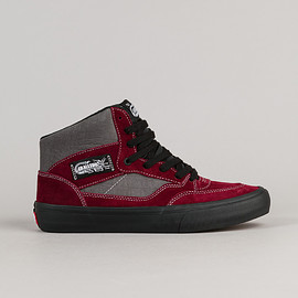 VANS - Vans 50th Full Cab Pro '89 Shoes - Burgundy / Grey