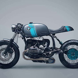 Elemental Custom Cycles - BMW R80 Monolever