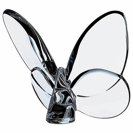 "Baccarat - ""Lucky"" Butterfly, Clear"