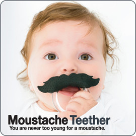 Moustache Teether