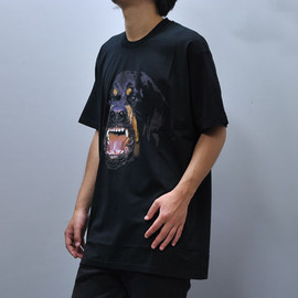 givenchy - rottweiler dog t-shirt, black