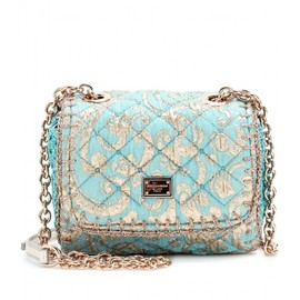 DOLCE&GABBANA - JACQUARD QUILTED MINI SHOULDER BAG