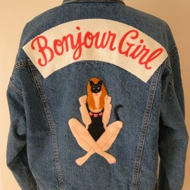 Bonjour Girl - Bonjour Girl New Year Exclusive Denim Jacket
