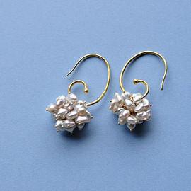 SOURCE - Keshi Pearl Cluster Earrings