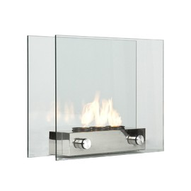 Southern Enterprises - Loft Portable Indoor / Outdoor Fireplace