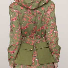 Thakoon Addition - Floral-print cotton-twill jacket