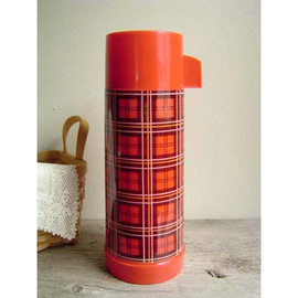 aladdin - Old Plaid Thermos Bottle