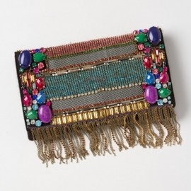 Anthropologie - '12FW★ANTHROPOLOGIE★Fringed Manjusha Clutch 1