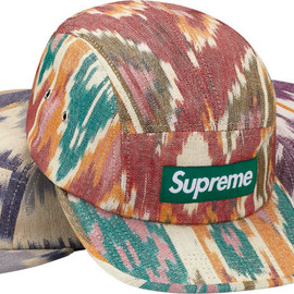 Supreme - Ikat Camp Cap