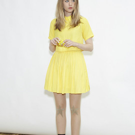 THE WHITEPEPPER - Crop Shirt Yellow