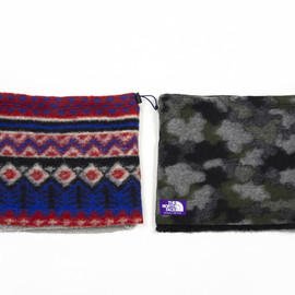THE NORTH FACE PURPLE LABEL - Wool fleece neck warmer