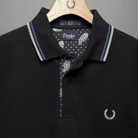 Fred Perry - Drake's of London for Fred Perry Blank Canvas • Selectism