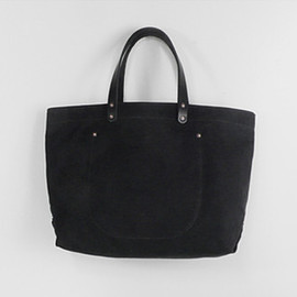 Stanley & Sons - BLACK WAXED CANVAS TOTE