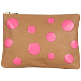 TOPSHOP - Spot Colour Block Clutch Bag