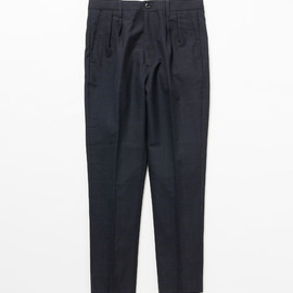 Name. - Mohair Check Trousers