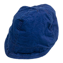 TATAMIZE - WORK CAP INDIGO SUCKER