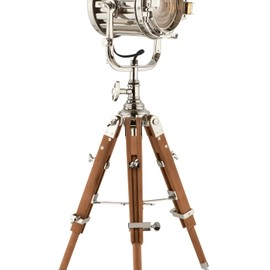 RALPH LAUREN - Montauk Searchlight Table Lamp - Ralph Lauren Home Table Lamps - RalphLauren.com