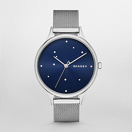 Skagen - Anita Steel Mesh Watch