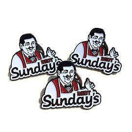 SUNDAYS BEST - SUNDAYS BEST Enamel Pin