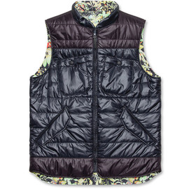 White Mountaineering - Botanical Print Vest