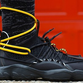 Pyer Moss, Reebok - Pyer Moss × Reebok DMX Fusion Experiment Friends and Family Sneakers(FW2018)