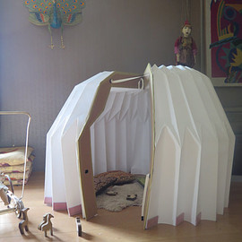 needahouse - Portable Origami Shelter Tent