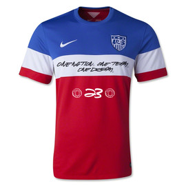 U.S. Soccer Federation, Nike, Futura - National Team Jersey by Futura