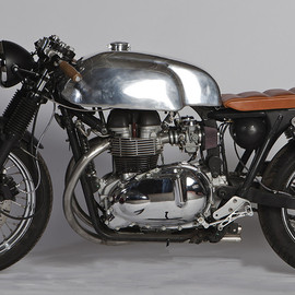 Sparks Motorcycles - Triumph Cafe Racer