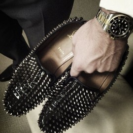 Christian Louboutin - Spiked loafers for the brave soul