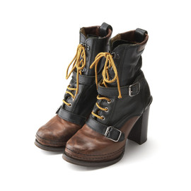 b STORE - Leather Mountain Boots
