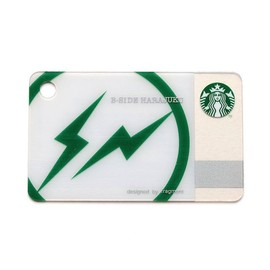 Starbucks Coffee, fragment design - STARBUCKS Mini Card B-SIDE HARAJUKU
