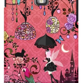 SECOND SKIN - uistore「Fairy Night Garden」 / for  GALAXY S II LTE SC-03D/docomo
