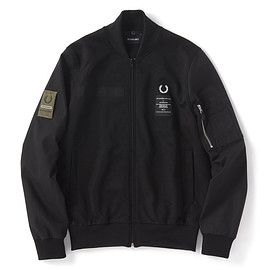 FRED PERRY, ART COMES FIRST - ART COMES FIRST CONTRAST SLEEVE TRACK JACKET