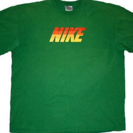 Nike - Vintage 90's Green Nike Graphic Tee Mens Size XL