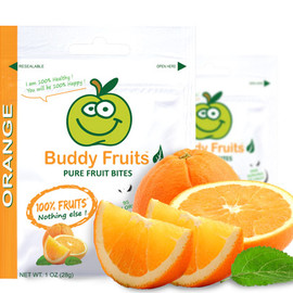 Buddy Fruits - Pure Fruit Bites Orange