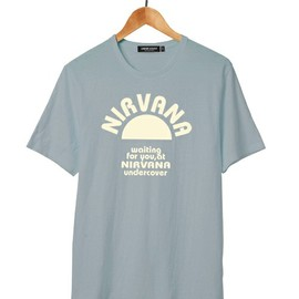 UNDERCOVERISM - NIRVANA T lightblue