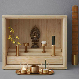能作 - keita-suzuki-shinobu-buddhist-altar-product-design-center-designboom-01