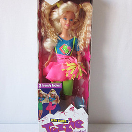 Barbie - Teen Looks Cheerleader Jazzie Doll New in Box - Barbie Cousin