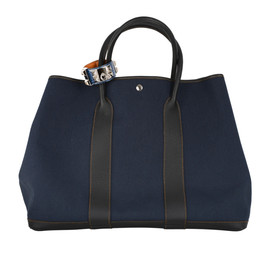 HERMES - GARDEN PARTY GM DENIM
