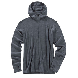 ibex - Hooded Indie Pewter Heather