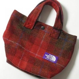 THE NORTH FACE PURPLE LABEL - THE NORTH FACE PURPLE LABEL(ザ ノースフェイス パープルレーベル) HARRIS TWEED TOTE BAG NN7264N