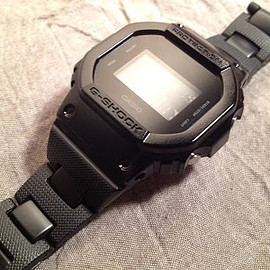 G-SHOCK - DW-5600BB-1DR METAL CORE BAND CUSTUM