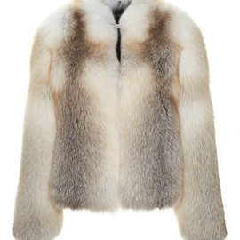 CHRISTOPHER KANE - Blonde Fox Fur Jacket