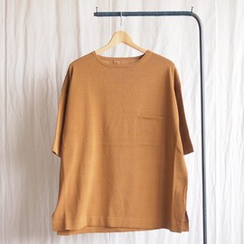 crepuscule - Knit T-Shirt #brown